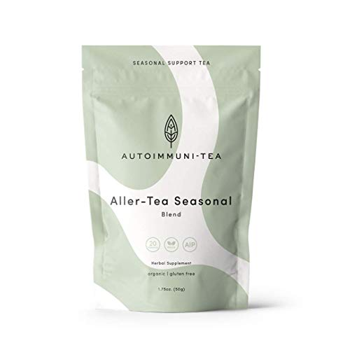 AIP Diet Herbal Tea - Allergy & Sinus Relief Tea for Seasonal Support, Autoimmune Protocol, Whole 30, Paleo-friendly - Sinus Soother Loose Leaf Herbs with Nettle, Dandelion