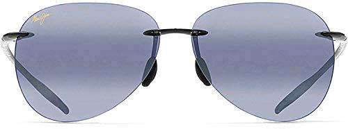 Maui Jim Sunglasses - Sugar Beach / Frame: Gloss Black Lens: Neutral Grey Polarized