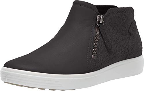 ECCO Women's Soft 7 Low Bootie Ankle Boot, Black/Black, 36 M EU (5-5.5 US)