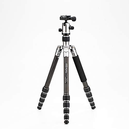 MeFoto C1350Q1T Roadtrip kompakt Stativ kit 1 in Carbon Titanium