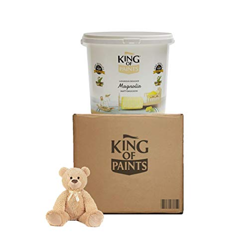 Peinture Baby Safe, lavable, écologique, végétalienne, certifiée pour la chambre de bébé par King of Paints (peinture Baby Magnolia) (magnolia)