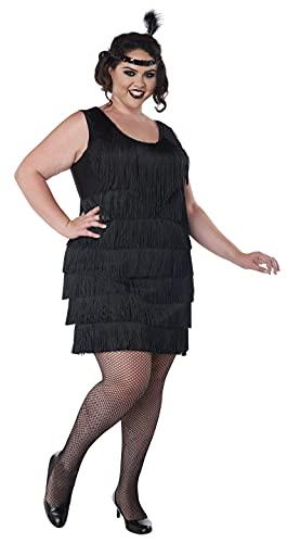 Aptafêtes - CS968915/Xxl - Costume pour Femme des Années 20 - Taille XXL