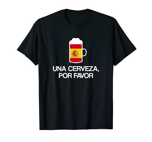 Cerveza por favor en español España Cerveza Camiseta