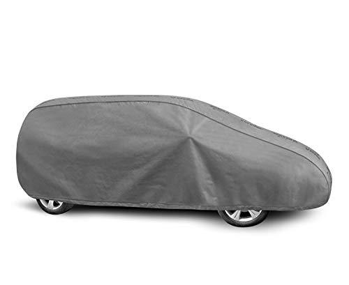 Autoabdeckung geeignet für Opel Zafira C Schutzplane Abdeckung Vollgarage für das Auto atmungsaktiv - Autoplane XL Van