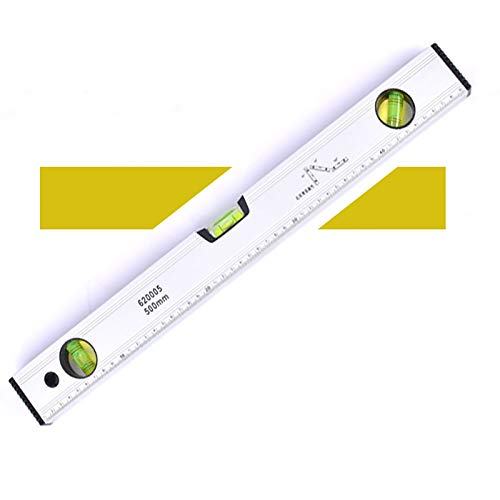 Professional Box Level, 12/16/20In Magnetic Level Ruler, Aluminum Alloy Leveler Torpedo Level, 3 Different Bubbles/45°/90°/180°Measuring, Shock Resistant Waterproof,12in