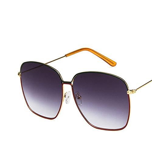 Extra grote zonnebrillen vrouwen retro bril vrouwen / mannen luxe merk zonnebrillen vrouwen