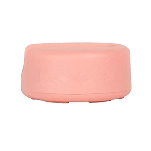 Wiederverwendbare saubere Baumwolle Doppelschicht Mikrofaser Gesichtsreinigung Handtuch Gesichtsmake-up Entferner Puff Puff Baumwolle Tragbare Nagellack (Color : Pink)