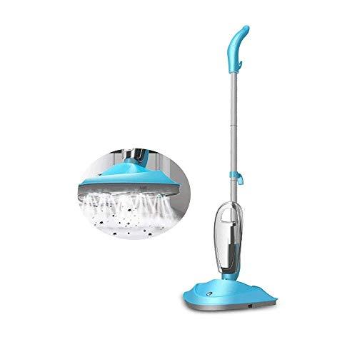 Z-Color Dampf-Kapsel Dampf-Mop, Handheld, Natürlich, Hygiene, Allergie, Schlauch, Werkzeug, Abbürsten Düse, 800W, Blau
