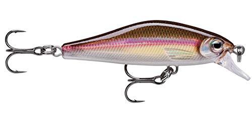 Rapala Señuelo Shadow Rap Solid Shad, 5 cm, 5,5 g, para pesca de perca y trucha, cebo duro para pesca de spinning, cebo artificial, cebo para peces depredadores, color: Wakasagi