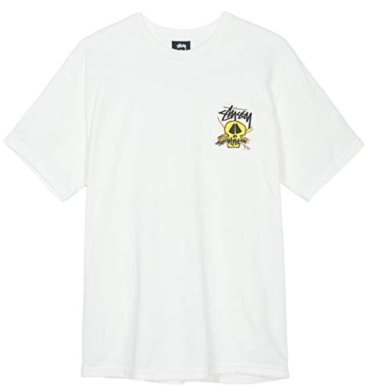 [ステューシー] Tシャツ SURF SKULL PIG. DYED TEE 18HO natural T-シャツ TEE ナチュラル サーフスカル 1904317 [並行輸入品]