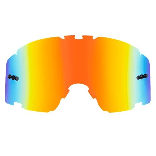 O'NEAL   Motocross-Brillen-Ersatzteile   Motorrad Enduro   Linse für maximale Lichtdurchlässigkeit, 100% UV Schutz, garantiert beschlagfreie Sicht   B-30 Goggle Spare Lens   Radium Rot   One Size