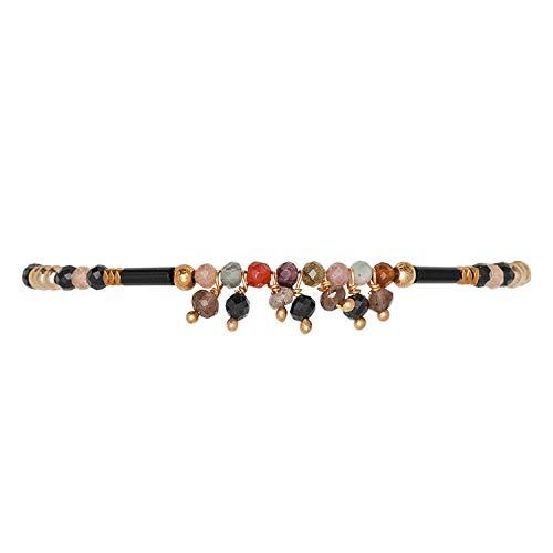 HIPANEMA Damen-Armband Crush Black H19CRUSBLK