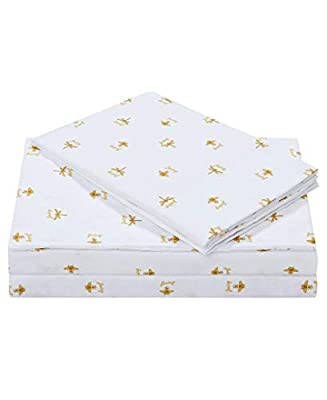 Juicy Couture Queen Bee 3-Piece Twin Microfiber Sheet Set