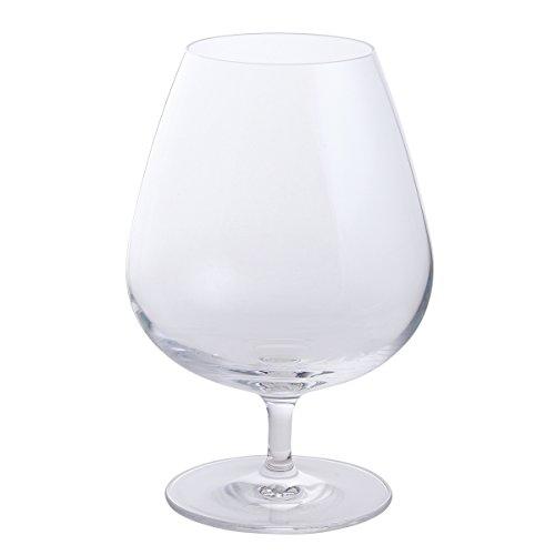 Dartington, lot de 2 grands verres en cristal pour vin ou brandy