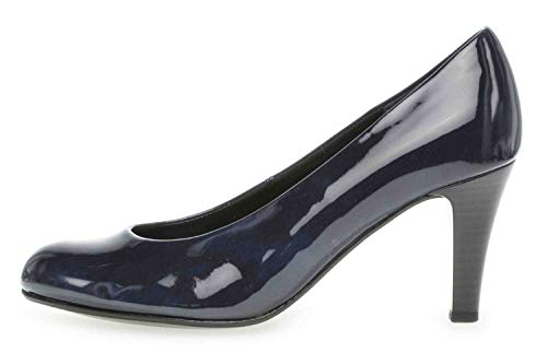 Gabor Shoes Damen Basic Pumps, Blau (Marine 76), 42.5 EU