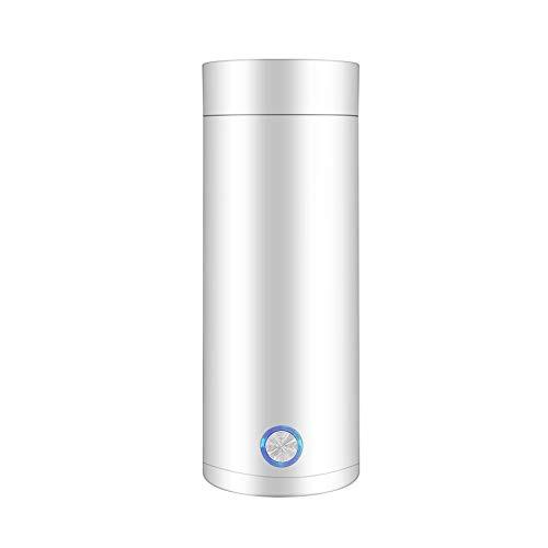 ZSQHD Tragbare Wasserkocher Thermal Cup Kaffee-Reise Wasserkesseltemperaturregelung Smart Water Kettle (Color : White)