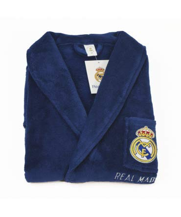 10XDIEZ Bata Real Madrid 306 Azul Royal - Medidas Albornoces
