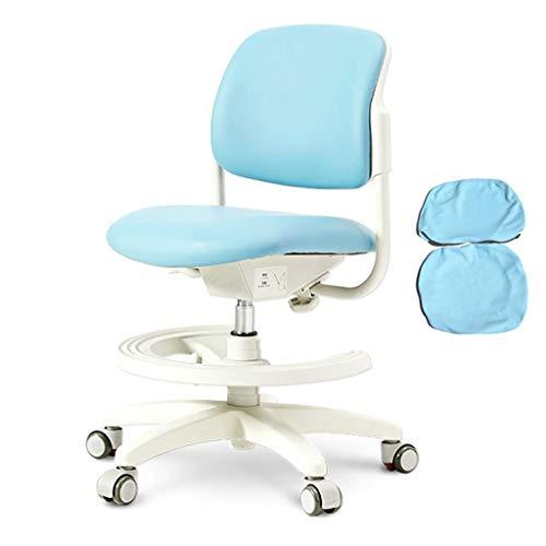 Ordenador Silla de aprendizaje de los niños protege la columna, Estudiante Corrige la postura sentada silla ergonómica, se puede subir y bajar la silla de escritorio for la Prevención de la chepa
