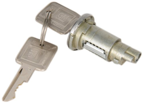 ACDelco D1400B GM Original Equipment Coded Ignition Lock Cylinder with Key