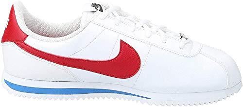 Nike Jungen Cortez Basic Sl (Gs) Traillaufschuhe, Weiß (White / Varsity Red / Varsity Royal / Black 103), 39 EU