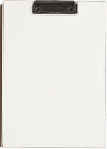 キングジム クリップボード レザフェス A4 白 1932LF白