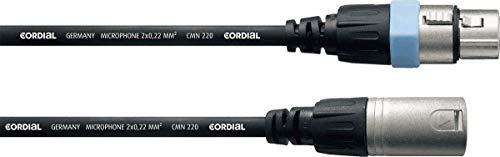 CORDIAL XLR-Mikrofonkabel 5 m