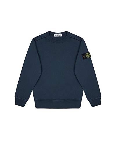 Stone Island Luxury Fashion Junge 721661040V0028 Blau Baumwolle Sweatshirt | Frühling Sommer 20