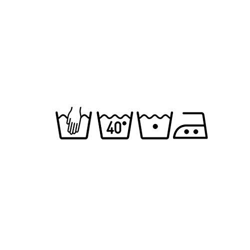 Busirde Waschmaschine Zeichen Abnehmbare Kunst-Wand-Aufkleber Wäscheraum Kunst-Wand-Aufkleber Laundry Room Decor Tapete Hauptraum-Dekor-Wand-Aufkleber