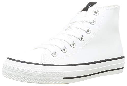 Mustang TEMI, Zapatillas Deportivas para Mujer, Action PU Blanco, 37 EU