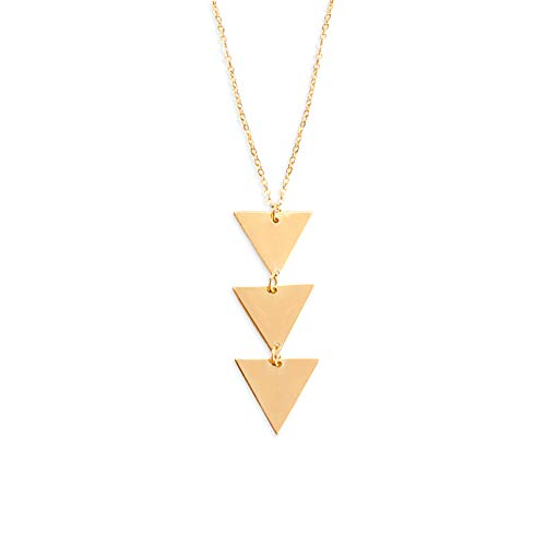 VIENTO Triangle Halskette (Goldener)