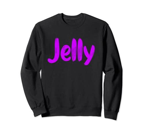 Fun Jelly Halloween Disfraz de Mantequilla de Cacahuete Sudadera