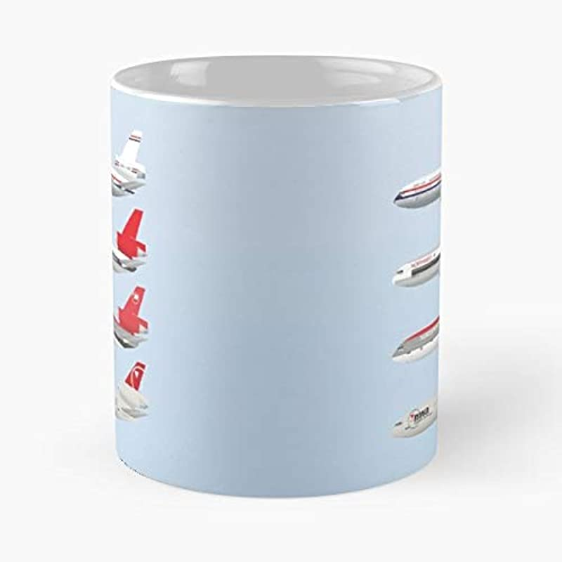 Northwest Airlines Aviation Airliners 11 Oz Coffee Mugs Unique Ceramic Novelty Cup The Best Gift For Holidays