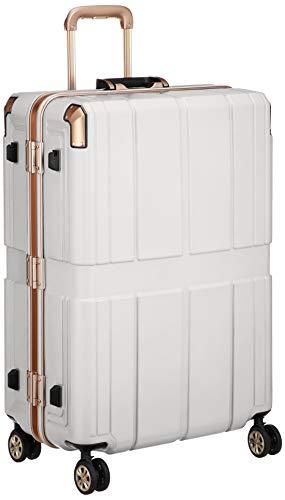 [レジェンドウォーカー] スーツケース 不可 保証付 90L 66 cm 5.2kg ホワイト