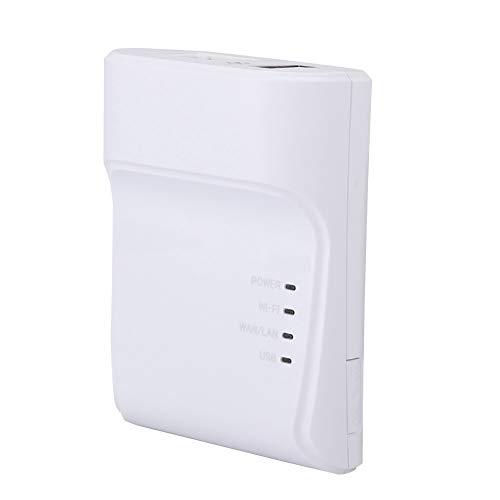 Queen.Y Impresora USB de Alta Velocidad Adaptador de Servidor de Impresión en Red Compartir LAN Impresoras de Red Ethernet