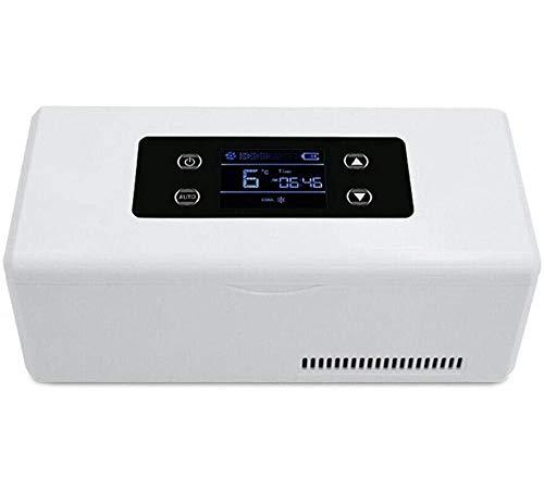 Diabete mini frigo,Frigorifero Portatile per Insulina, Frigorifero Elettrico Interferone Insulina temperatura di conservazione di 2-8 ° C