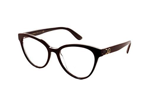 Dolce & Gabbana occhiali da vista 3320 Bodeaux 3233 53/17/140