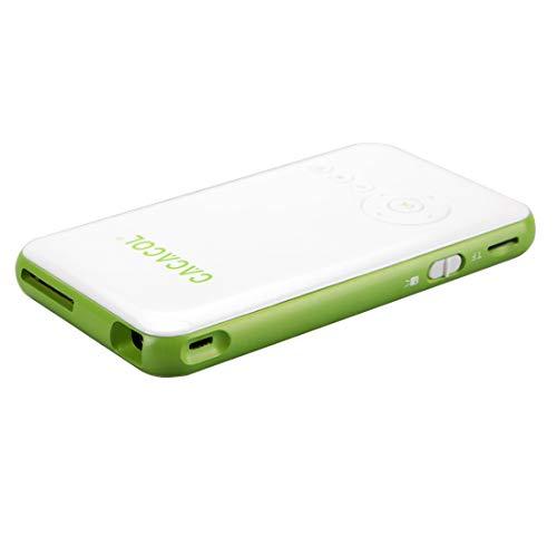 Proyector Inteligente ITC-DO2 50LM WiFi Smart 854 * 480 (WVGA) DLP 0.3DMD + RGB LED Proyector portátil con Control Remoto, Android 4.4, RK3128, 1GB RAM, 16GB ROM, WiFi, BT, HDMI, Liqingshangmao