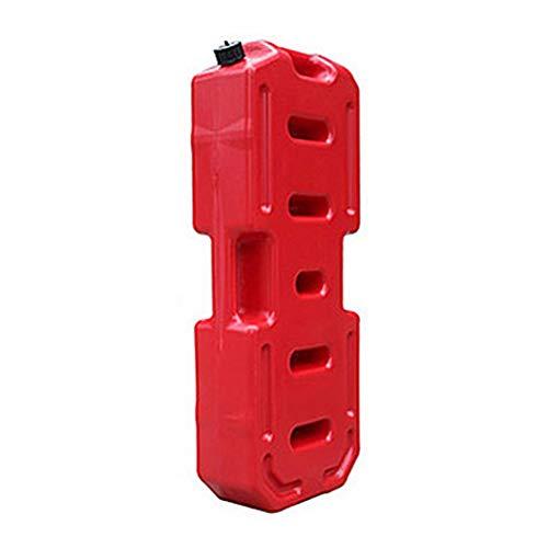 Bidón para gasolina 10/20/30L Tanques de combustible para recogidas 3L 5L Barriles de combustible Recipiente de gas Jerry antiestático puede alimentar el tanque diesel de gasolina con pico de vertido
