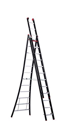 Altrex ladder NEVADA - multifunctionele ladder 3-delig, 3 x 12