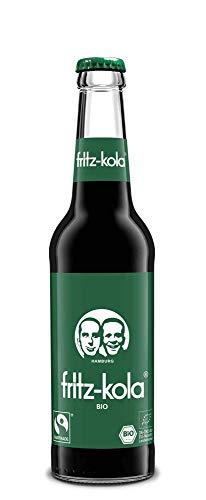 Fritz-Kola grün und gerecht Fairtrade 12 x 0,33 Liter inkl. Pfand