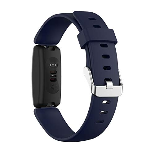 LXF JIAJU Soft Silicone Sports Reemplazo De Reloj Correa De La Banda para Inspirar 2 Accesorios De Moda De Reloj Inteligente (Color : H, Size : S)