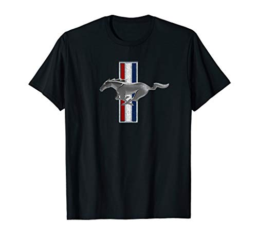 Ford Mustang Vintage Pony Logo T-Shirt