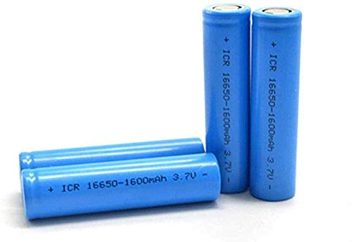 Rechargeable Battery 16650 Battery 3 7V...