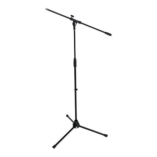 GEWA 900595.0 - Pie de micrófono, color negro