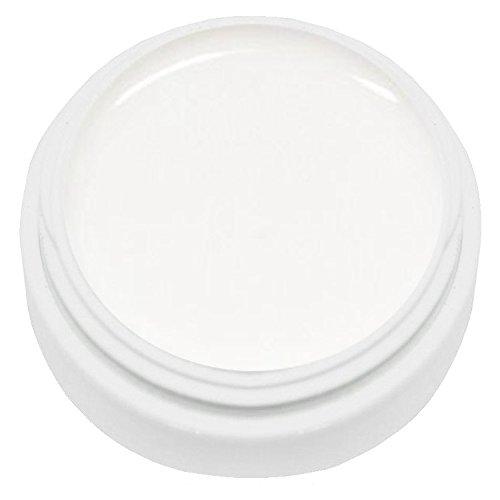KM-Nails 5ml natural French White -soft weiß- natur weiß für den natural Look härtet unter UV und LED