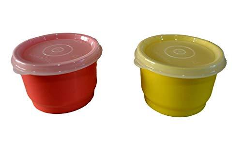 Tupperware Plastic Cup Set, Set of 2, Multicolour- 125 ml each