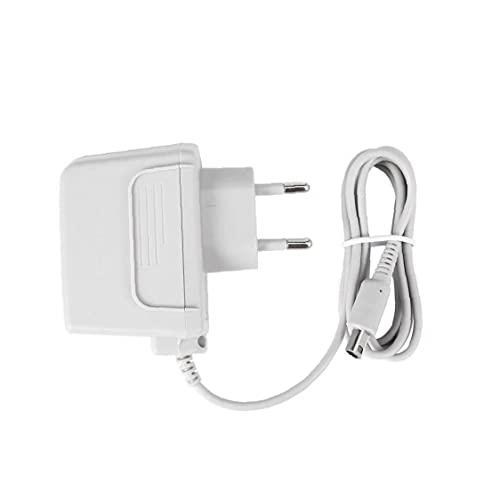 Tuimiyisou Cargador de Pared Ajuste para el Interruptor del Adaptador del Cargador casero de la Pared del Cargador del Cable Compatible con 2DS NDSI NDSI LL 3DS Sistema