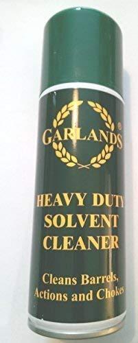 A handy 200ml aerosol can of Garlands Gun Cleaner Bore Solvent for shotguns and rifles