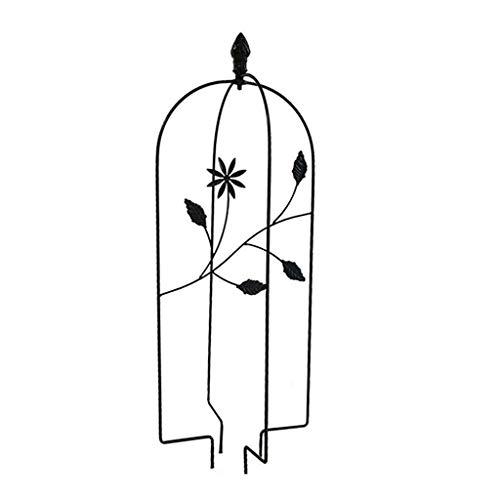 chaoxiner LINhuahua Rankgitter Metall, Rankhilfe Garten Deko, Kletterhilfe Für Pflanzen, 24 X 70 cm, Spalier Rankzaun Blumengitter Kletterpflanzen Pflanzengitter