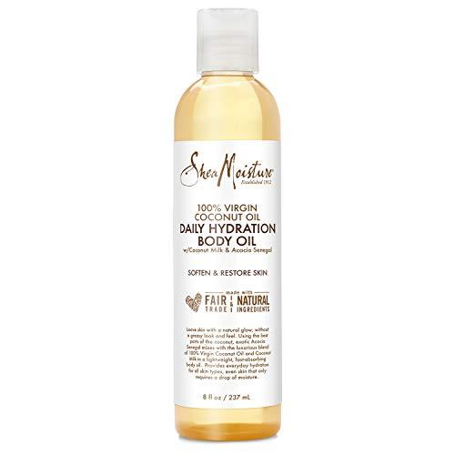 SHEA MOISTURE 100% Virgin Coconut Oil Daily Hydration Body Oil